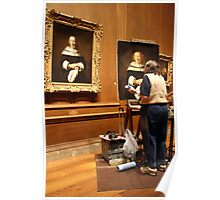 Painting a Rembrandt Poster