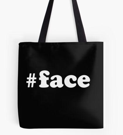 #face Tote Bag