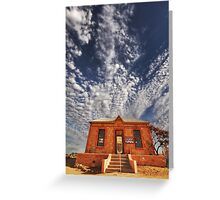 The Peter Browne Gallery, Silverton NSW Greeting Card