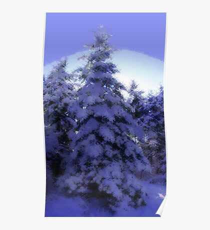 Nature's Christmas Poster