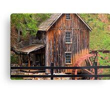 Sixies Mill Closeup Metal Print