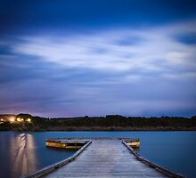 The Jetty - Anglesea, Victoria by Liam Byrne
