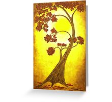 Ethereal Tree III Greeting Card