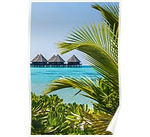 Postcard from Tahiti, French Polynesia Poster