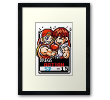 Terry and Ryu Framed Print