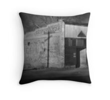 Old Shop Throw Pillow