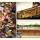 Pont des Arts - Bridge of Love by Kasia-D