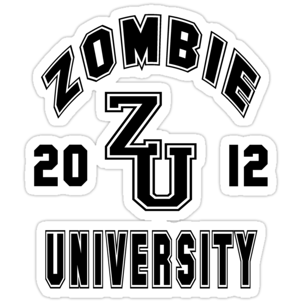 Zombie University Class of 2012 by mobii