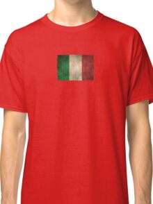 Old and Worn Distressed Vintage Flag of Italy Classic T-Shirt