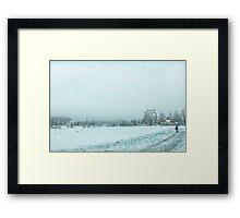 Marshmallow world Framed Print