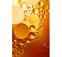 Oil Drops Photographic Print