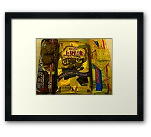 Chinese Biscuits Framed Print