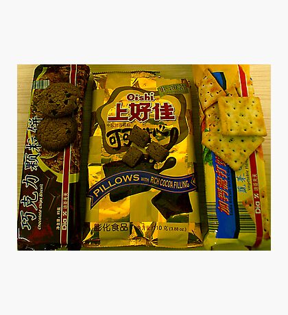 Chinese Biscuits Photographic Print