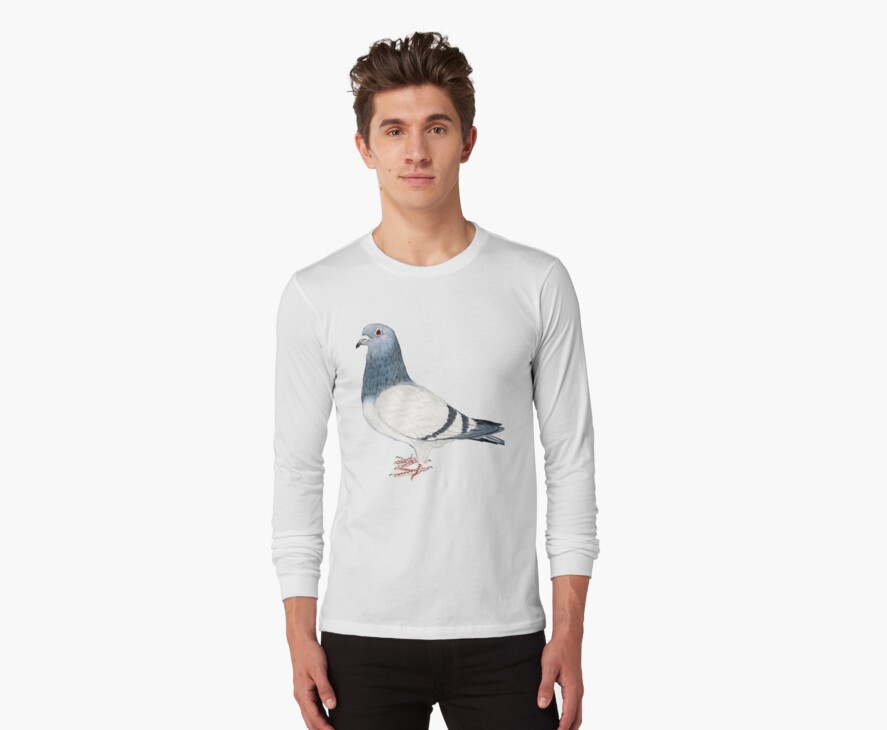 Pigeon T-Shirt by Charlotte Yealey
