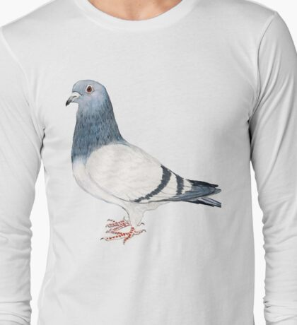 Pigeon T-Shirt Long Sleeve T-Shirt
