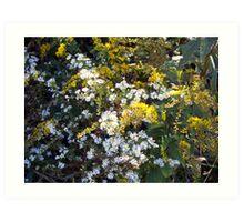 Autumn Bouquet - Goldenrod Art Print