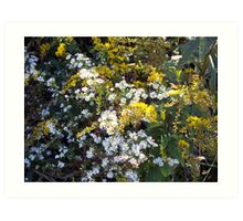 Autumn Bouquet - Goldenrod Art Print