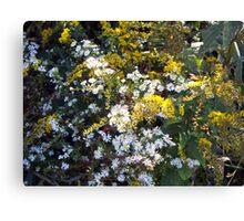 Autumn Bouquet - Goldenrod Canvas Print