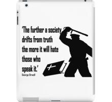 HATRED OF THE TRUTH iPad Case/Skin