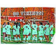 2009 Inglemoor Vikings Girls' Varsity Soccer - Autumn Poster
