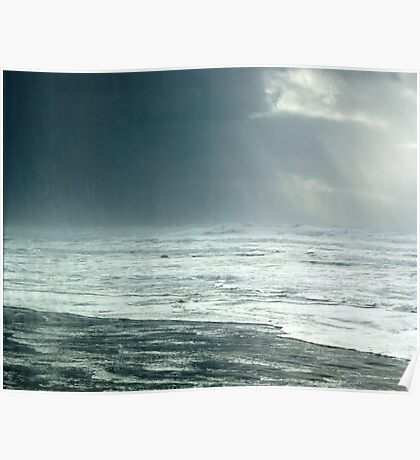 High Surf Warning: Ominous Clouds Poster