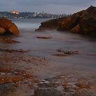 Manly Island Over Water by Napier Thompson