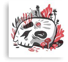 Skull Garden Canvas Print