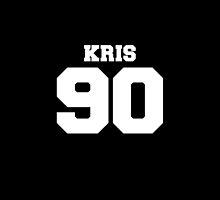Kris EXO 90 Football Design EXO-M by impalecki