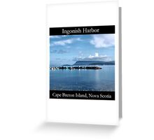 Ingonish Harbor Greeting Card