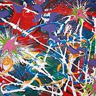 Celebration of a Soul's Return  8x10 acrylic on canvas by eoconnor