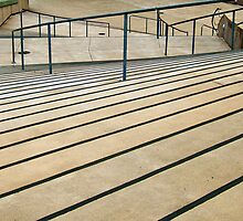Rails and Stairs by Julia Washburn
