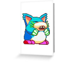 Pepelogoo Greeting Card