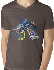 """Defender of The Nerd-verse""  Mens V-Neck T-Shirt"