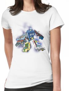 """""""Defender of The Nerd-verse""""  Womens Fitted T-Shirt"""