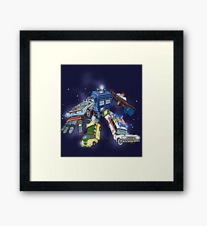 """Defender of The Nerd-verse""  Framed Print"