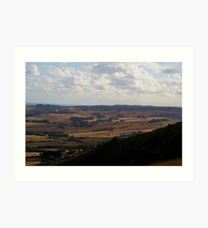 hill valley Art Print