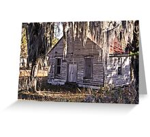 Old Church House Greeting Card