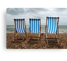 chairs Canvas Print