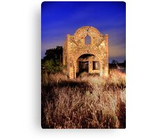 Abandoned Station on Old Hwy 67 Canvas Print