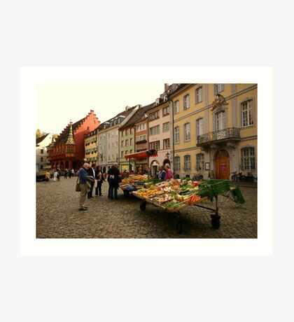 Fruits of Freiburg Art Print