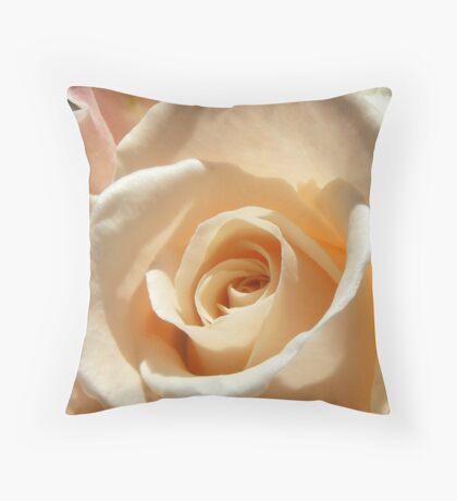 rose beauties  - light caramel  etc Throw Pillow