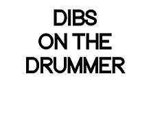 Dibs on the drummer. Photographic Print