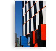 Building blocks at Docklands Canvas Print