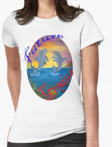 Future Genius Womens Fitted T-Shirt