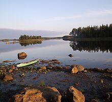 Evening in Karelia by milzi