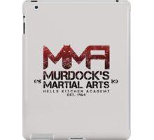MMA - Murdock's Martial Arts (V02) iPad Case/Skin