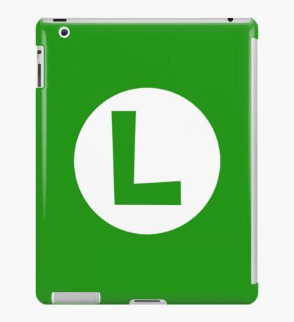 Super Mario Luigi Icon iPad Case/Skin