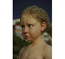 The Kid Photographic Print
