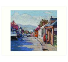 Battery Point, Hobart,Tasmainia Art Print