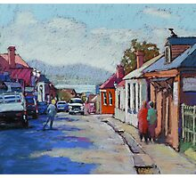 Battery Point, Hobart,Tasmainia Photographic Print